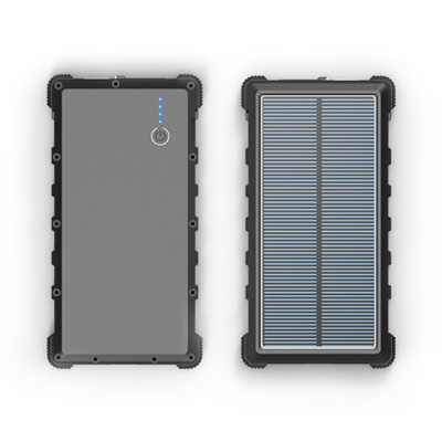 WT-296Mini IP67 waterproof solar power bank with Type-C